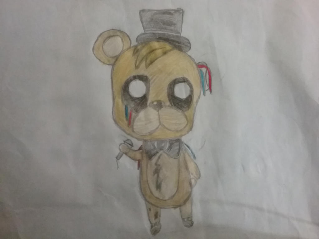 Chibi Golden Freddy  by nice-girl-xoxox