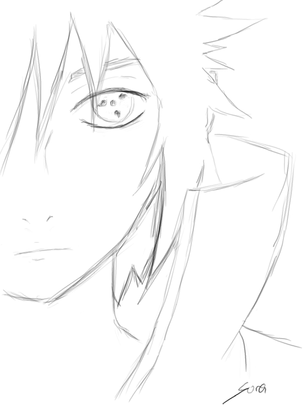 Sasuke Uchiha 5 Minute Drawing 336237935 on sasuke last