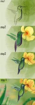 step by step 2 by IDACHI
