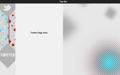 Typography Twitter Background by NarjisNaqvi