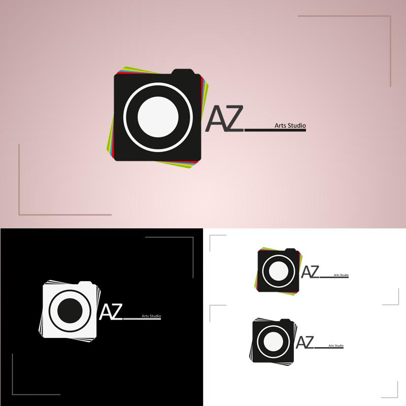 AZ Art Studio logo by NarjisNaqvi on DeviantArt: narjisnaqvi.deviantart.com/art/AZ-Art-Studio-logo-301427313