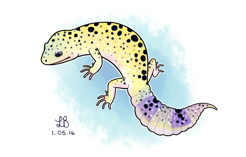 Leopard Gecko by IncreasinglyCoherent