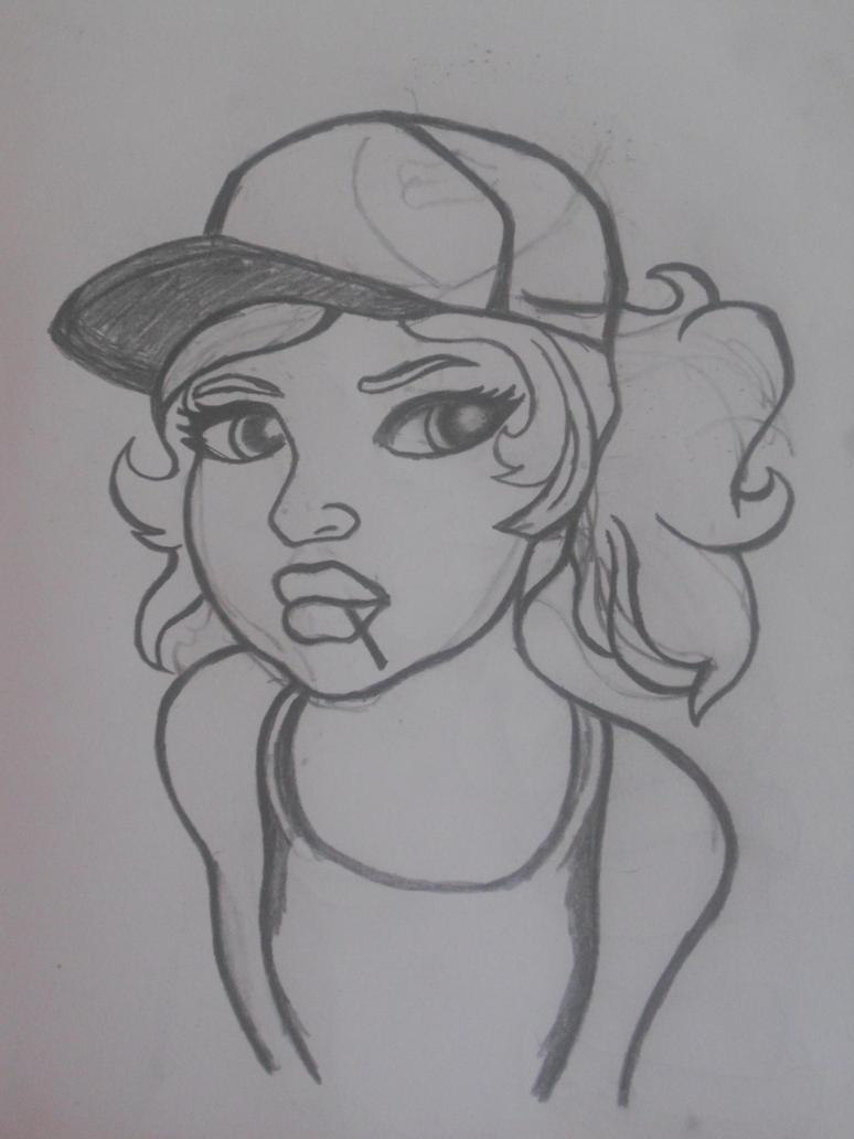 Cap Girl Sketch By Fmwcelt On DeviantArt