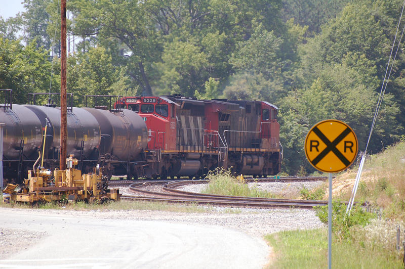 CN Sulfur Train by jhg162