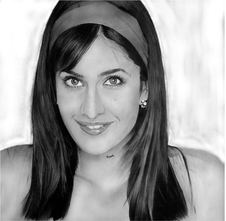 Cute Katrina Kaif by Rithesh09 on DeviantArt