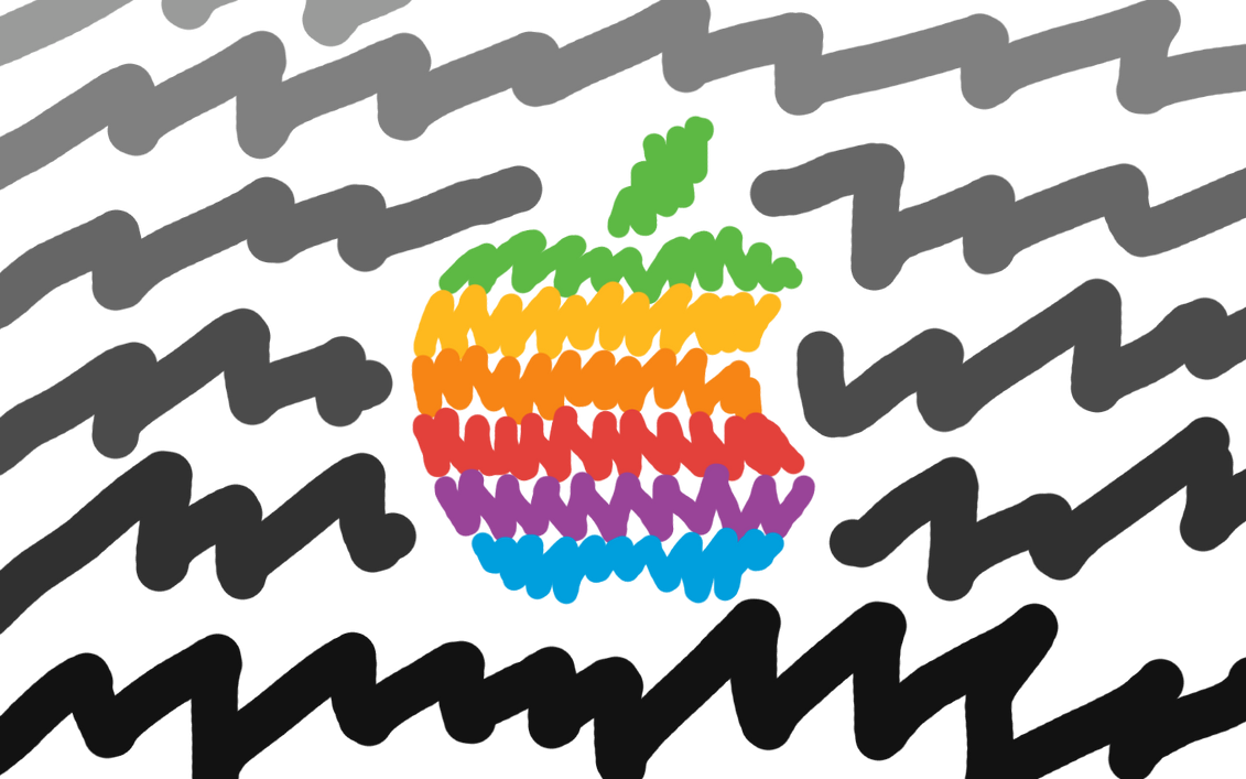 Apple-Scribble 1440x900 by EricSpencer