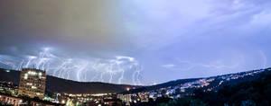 Thunders and lightnings