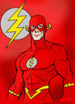 Flash Line Art by Kenmasters33 colored