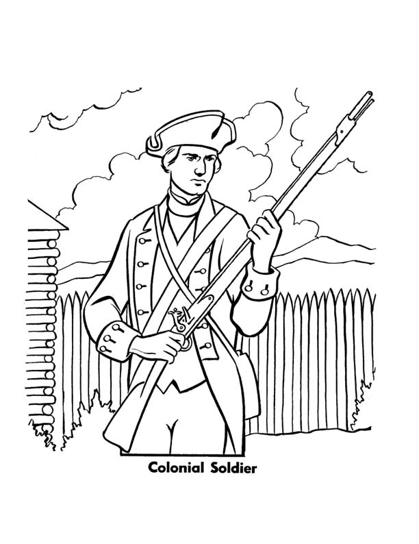 Colonial Development Simple Drawing : Colonial soldier by writer colorer on deviantart