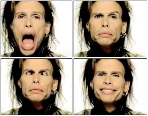 The Many Faces Of Steven Tyler by eyerockeyeroll