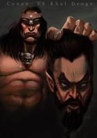 Conan vs Khal Drogo