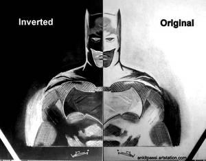 Batman - BvS ( Invert Sketch)