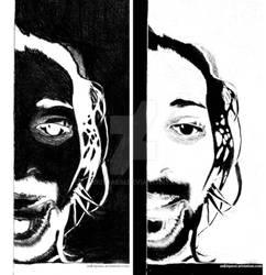Invert Sketch - Human