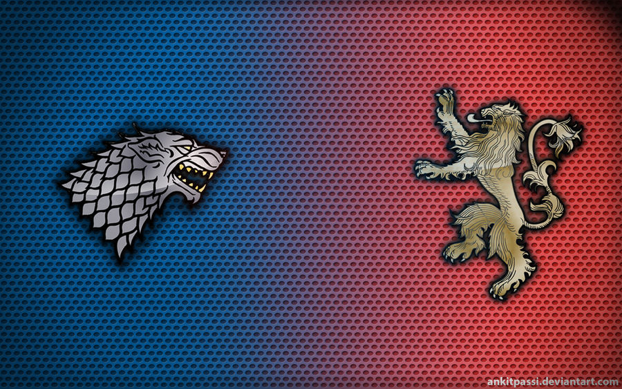 Wallpaper-Stark vs. Lannisters