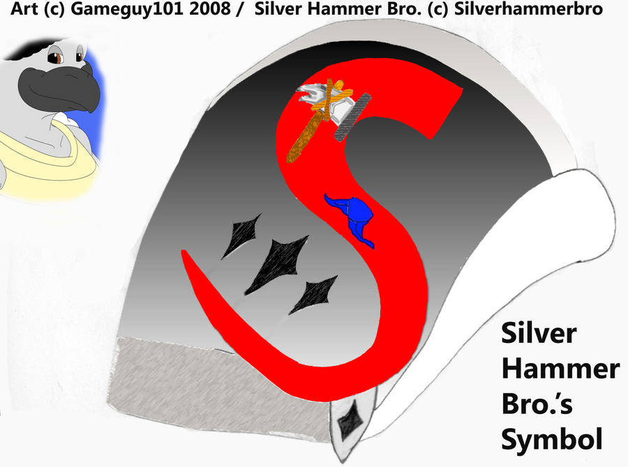 S Symbol Images Silver Hammer Bro s Symbol by