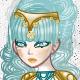 Rosetta's Warrior princess avatar by LilliandilRosetta