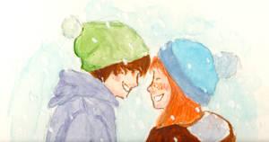 Snow by dinamata