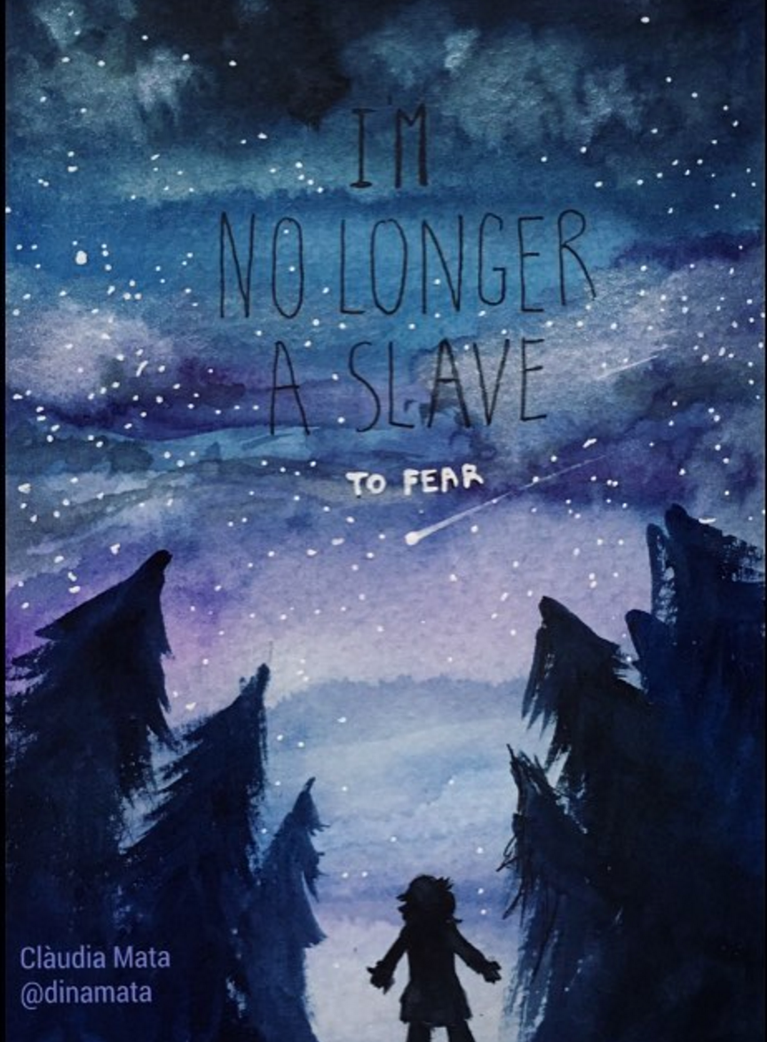 I'm no longer a slave to fear. by dinamata
