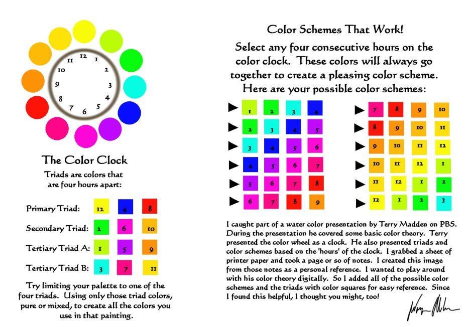 The Color Clock By Wa11a6y