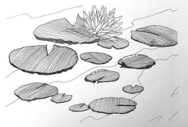 InkTober Day 24: One Dozen by wa11a6y