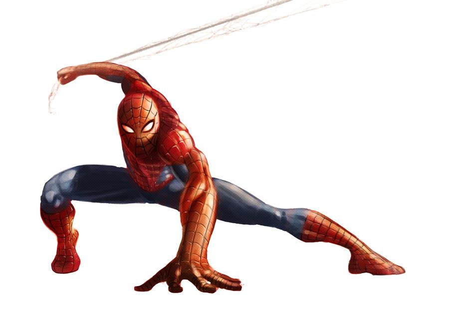 Spider-Man by Mleeg-Art