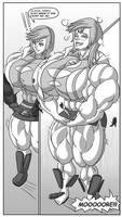 Growth Drive Manga: Tifa x Lightning Issue 2 Pg 4
