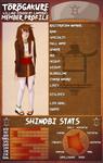 Kokoro Kitsune official profile by ochairo