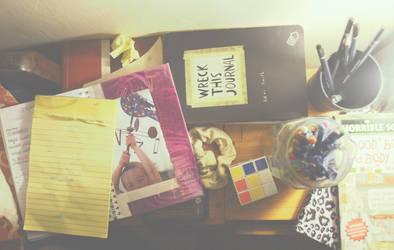 the workspace summer by MehreenFreed