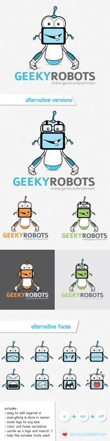 Geeky Robots logo