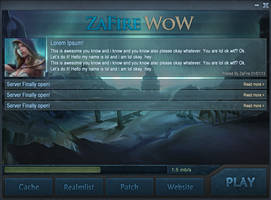 Launcher WotLK by ZafireHD