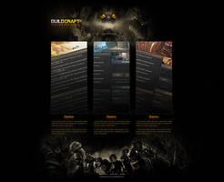 GuildCraft Splashpage by ZafireHD