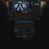 Forgecraft web design by ZafireHD