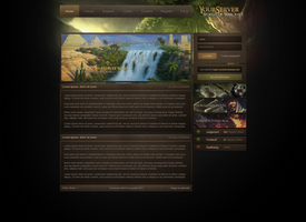 Simple WoW, web design by ZafireHD