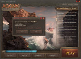 Agony WoW - Launcher by ZafireHD