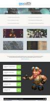 Forum thread design by ZafireHD