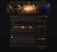 Havoc WoW - Grunge Gaming Design by ZafireHD