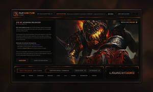 PlaySanctum Launcher Design