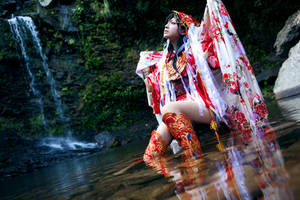 Bathing by usegieiri
