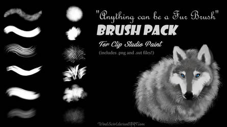 Free Brush Pack for CSP [+.png files!] by Lycienne
