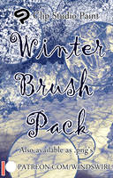 Winter Brush Pack (Small Version) by Lycienne