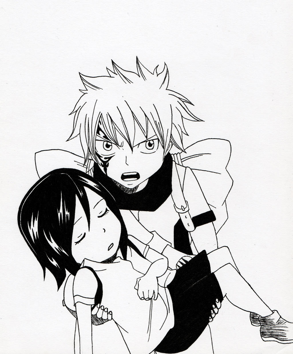 Displaying 20> Images For - Mystogan Fairy Tail Drawing...