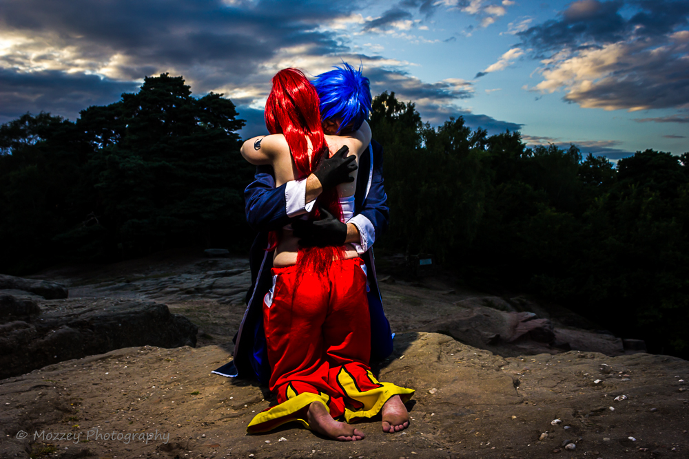 True loves embrace? Jellal and Erza (Fairy Tail) by Acey-kakarot-michael