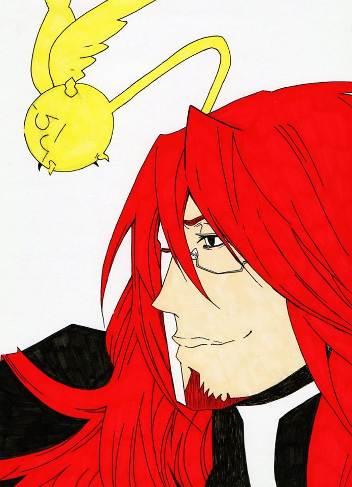 General Cross and Timcanpy from D gray-man by Acey-kakarot-michael