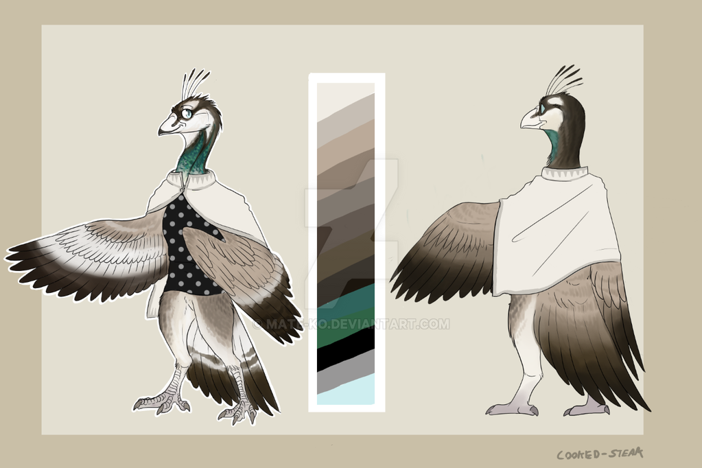 Character Reveal 9 Dianne The Peacock By Mate Ko On