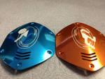 Portal themed V-Moda custom shields