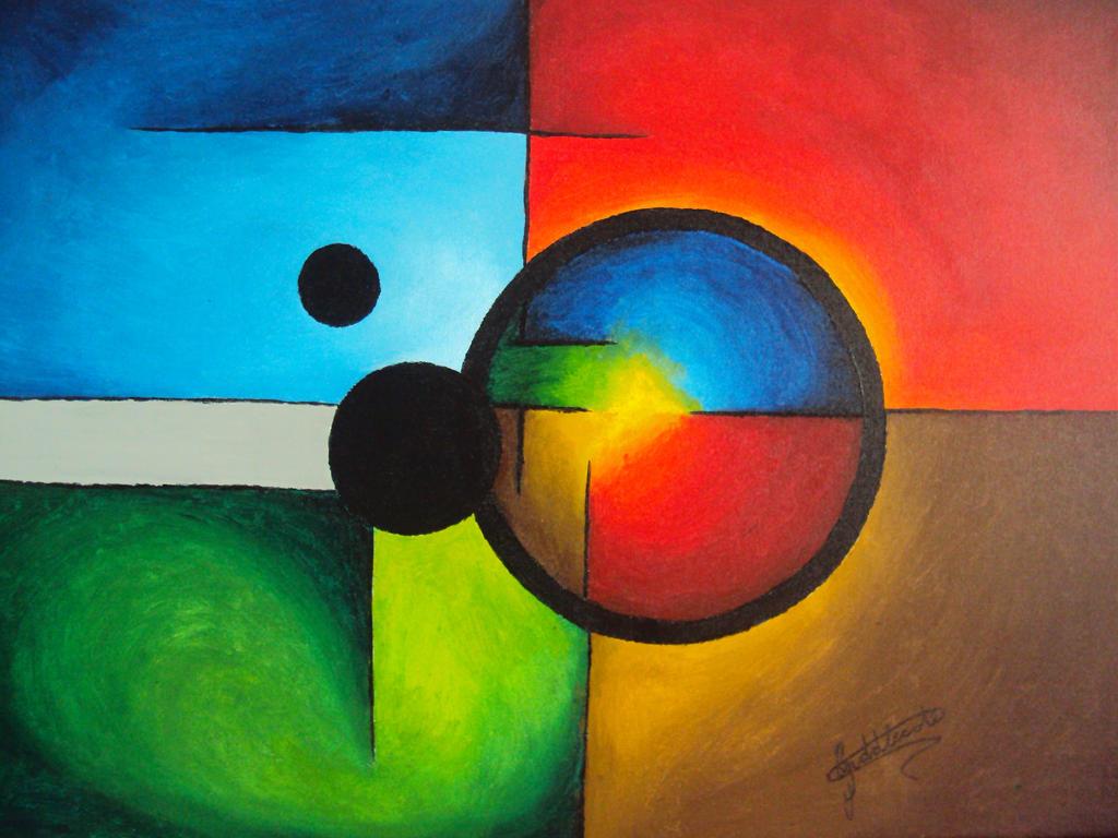 Four Elements Art : Painting 2 four elements by 87darkling78 on deviantart