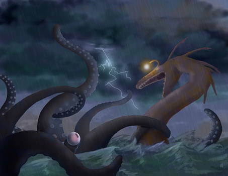 Epic Battle at Sea
