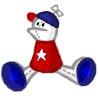 Homestar Plushie by ArchaosTeryx