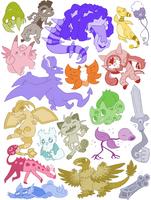 pokemon by ArchaosTeryx
