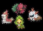 Poke-bugs 1 by ArchaosTeryx